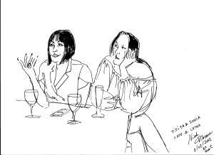 Desenho Nicole Pibeaut Titita Soninha CafecomLetras BH 01