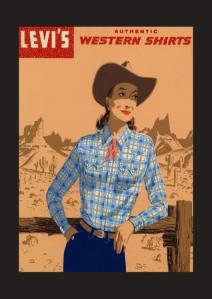 Em 1934 as mulheres da costa Oeste começam a usar jeans