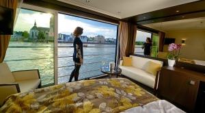 Cruzeiro com janelas panorâmicas