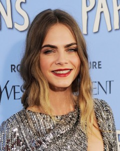 """Cara Delevingne== Twentieth Century Fox with YSL Rouge Pur Couture host the premiere of ÒPaper Towns""""== AMC Loews Lincoln Square, NYC== July 21, 2015== ©Patrick McMullan== Photo - Nicholas Hunt / PatrickMcMullan.com== =="""