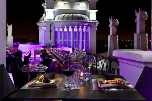 Rooftop Bar Meliá Madrid