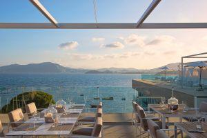 Rooftop bar Meliá Ibiza