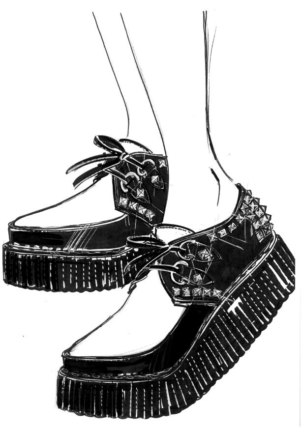 Miu Miu Shoes_Sketches_Madonna_Rebel Heart Tour 03