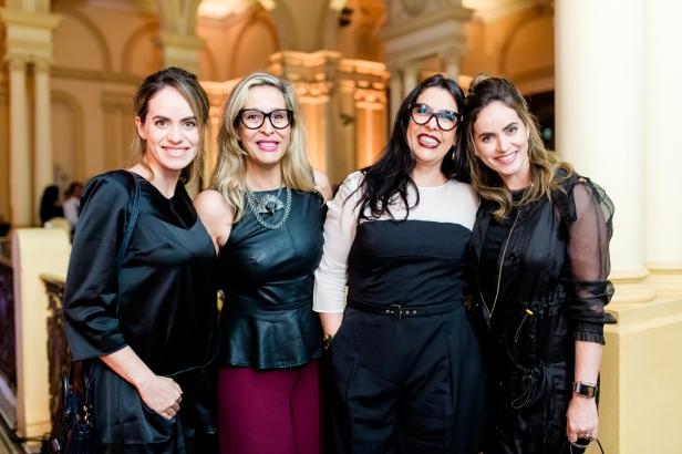 Carolina Maloy, Patrícia Rezende, Tete Rezende e Marcela Maloy