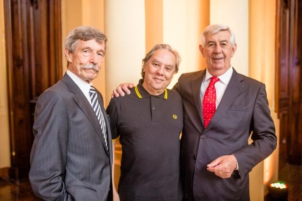 Dieter Brockhauser , João Delphino e Humberto Rebonato