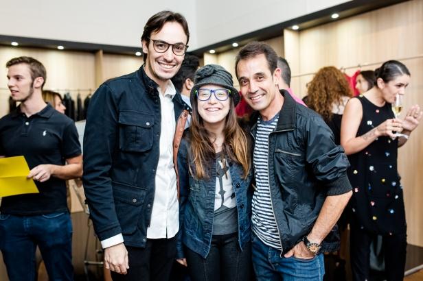 Gui Torres, Ana Clara e Márcio Rodrigues