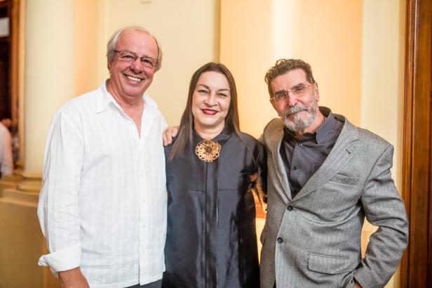 Jânio Gomes, Mary Arantes, Raymundo Vianna