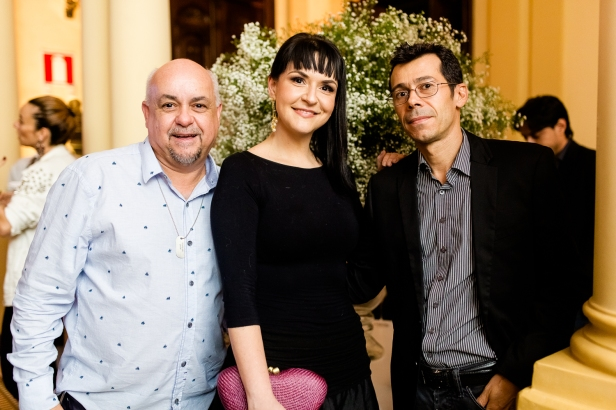 José Eustáquio Megali, Natália Dornellas e Marcus Corrêia