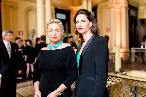 Tânia Fagundes e Daniela Braga