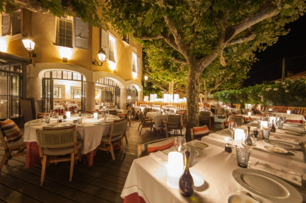 Byblos Saint Tropez - Restaurant Rivea by Alain Ducasse  Low