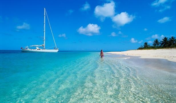Shallow Aqua Waters Along St. Croix St. Croix, Virgin Islands